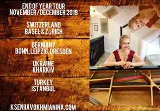Kseniia's end of year tour