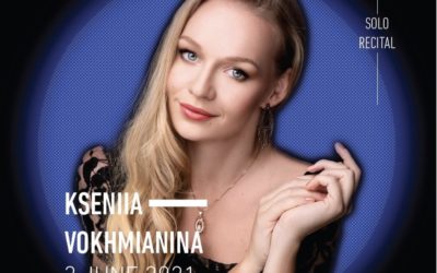 Kseniia will open the 2021 Singapore International Piano Festival with a solo recital